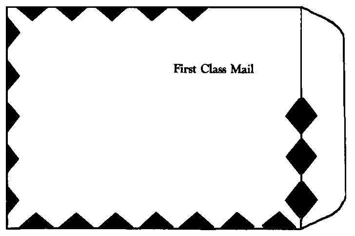 TYVEK® FIRST CLASS MAILER White Open End 9 x 12 Envelope-Imprinted
