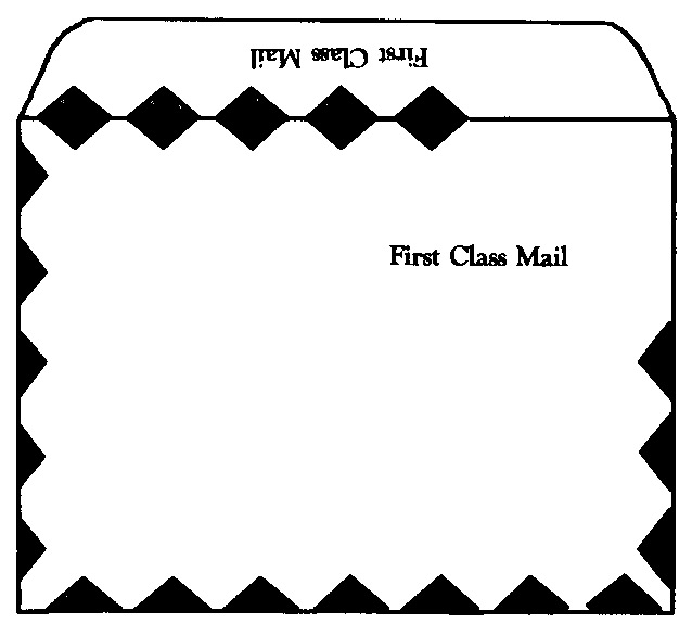 White Kraft FIRST CLASS MAILER 28lb. Open Side 9 x 12 Envelope-Imprinted