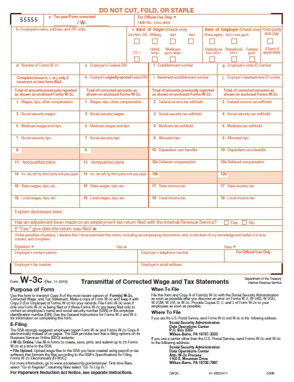 WC Laser Transmittal Form For WC Sheet Pack WC Laser