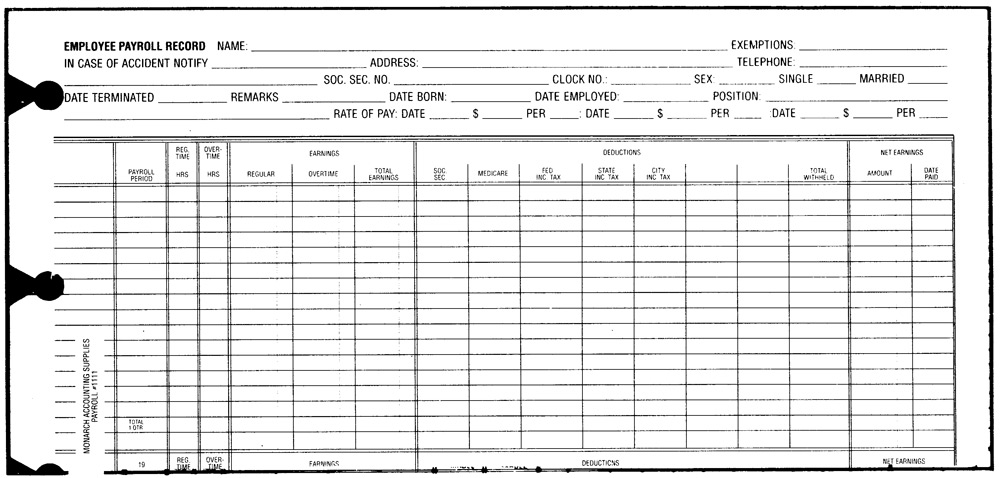 payroll sheet form - Khafre